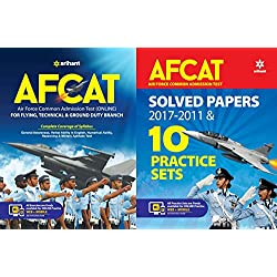 AFCAT (Flying Technical & Ground Duty Branch) 2018 with AFCAT Solved Papers and Practice Sets 2018 Arihant