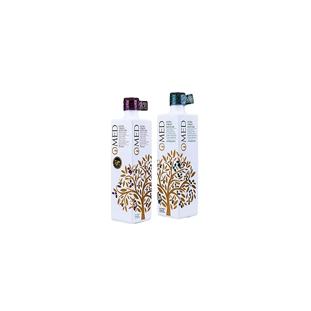 O Med Doppelpack Selection Picual Und Arbequina Olivenl 2 X 500ml