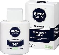 3 Pack - NIVEA FOR MEN Post Shave Balm, Sensitive 3.30 oz
