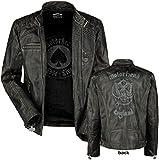 Motörhead England Lederjacke schwarz XL