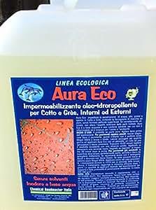 Impermeabilizzante, oleo-idrorepellente, ecologico, per pavimentazioni in cotto, esterne e interne