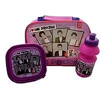 Unbekannt Global One Direction Lunchbox mit Trinkflasche, Rosa preisvergleich bei kinderzimmerdekopreise.eu