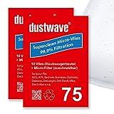40 Staubfilterbeutel (Superpack) geeignet für AIGGER - CVC 5630 Bodenstaubsauger - dustwave® Markenstaubbeutel - Made in Germany + inkl. Micro-Filter