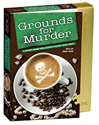 BePuzzled 1000pc Puzzles - Classic Mystery Jigsaws - Grounds for Murder