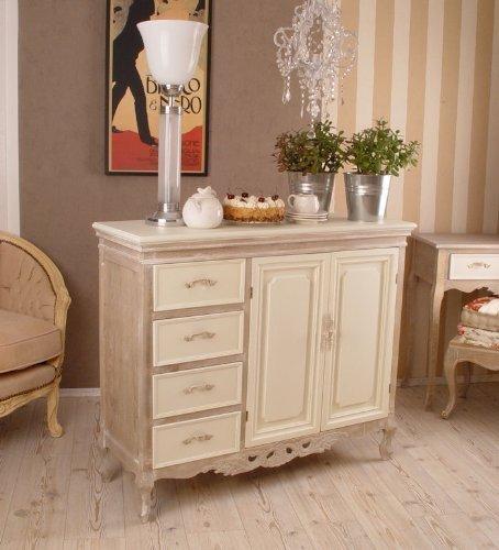 Kommode, Kommodenschrank, Schubladenschrank, Schrank, Möbel für die Wohnung im angesagten Cottage-Stil, gefertigt aus Holz und als Romantisches Schränkchen - Palazzo Exclusive -