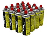 16 Pack Butane Gas Canisters