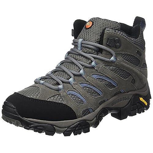 Merrell Moab Mid Gtx, Chaussures de randonnée montantes homme, Gris (walnut), 41