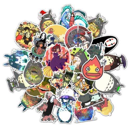 Totoro Anime Aufkleber Scrapbooking Koffer Skateboard Laptop Aufkleber Pack Spielzeug Für Kind Geburtstagsgeschenk Wasserdicht Aufkleber 50 Stücke -