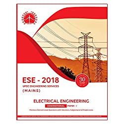 ESE 2018 UPSC Mains Electrical Engineering Conventional Paper 1