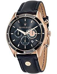 Maserati Orologio da Uomo Cronografo al Quarzo con Cinturino in Pelle – R8871624001