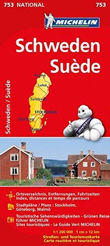 Schweden (Michelin Nationalkarte): Alle Infos bei Amazon