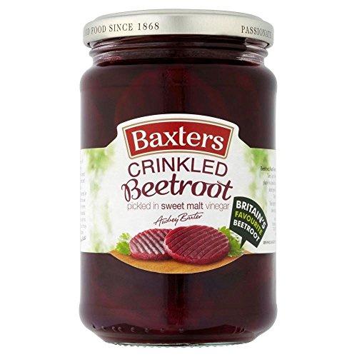 Baxters Betterave coupe ondulée à Sweet vinaigre (340g) - Paquet de 6
