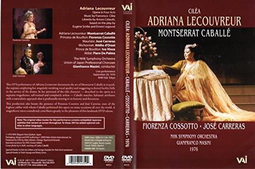 CABALLE/CARRERAS/COSSOTTO/MASINI/TOKYO 1976/ADRIANA LECOUVREUR/CILEA