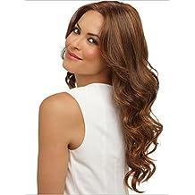 Meylee Pelucas Las mujeres modernas onda sintética peluca llena del cuerpo para las mujeres blancas ,