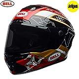 7092103 - Bell Star MIPS Isle of Man Motorcycle Helmet XS Black Gold