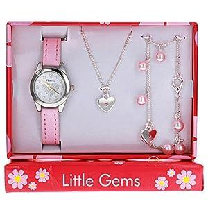 RAVEL Mädchen Analog Quarz Uhr mit Plastik Armband R2227