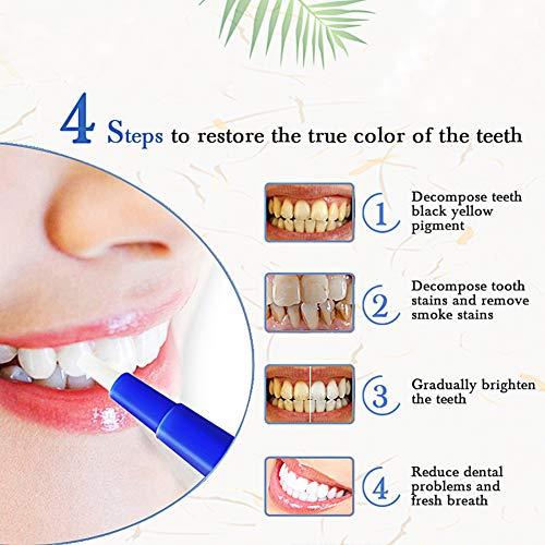 Profesional Blanqueamiento Dental Gel, Blanqueamiento de dientes, Blanqueador Dental blanqueamiento de los dientes y gel que aclara Lápiz Blanqueador del quita las manchas higiene oral