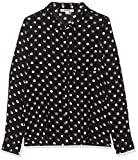 Garcia Kids Mädchen G92432 Bluse, Mehrfarbig (Off Black 1755), 128 (Herstellergröße: 128/134)