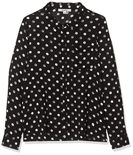 Garcia Kids Mädchen G92432 Bluse, Mehrfarbig (Off Black 1755), 152 (Herstellergröße: 152/158)