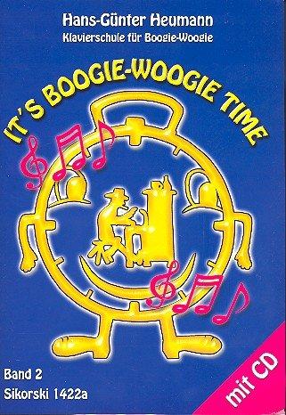 IT'S BOOGIE-WOOGIE TIME Band 2 (+CD) mit Bleistift -- Klavierschule für Boogie-Woogie mit faszinierenden Original-Boogies mit Anleitungen und Improvisationen vom Anfang zur Perfektion von Hans-Günter Heumann (Noten/sheet music)
