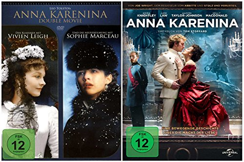 Anna Karenina Fan Collection mit 3 Filmen [2 DVDs]
