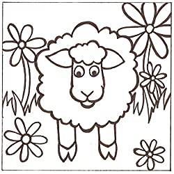 PaintaDoodle 12 x 12 Sheep Painting Kit
