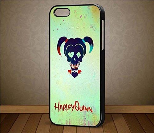 oneoffboutique Suicide Squad Harlequin Schutzhülle für Apple iPhone Samsung HTC Nokia (Adams Leder-geldbörse)