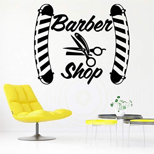Diy friseur aufkleber wasserdicht vinyl tapete wohnkultur für kinderzimmer wohnkultur diy pvc dekoration zubehör 2 58 * 49 cm -