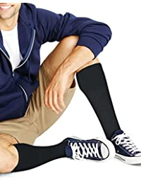 Hanes comfortblend ? Hommes over-the-calf Crew Chaussettes pour Homme