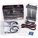 Hantek PC Digital-Oszilloskop 200MHz 400.000FPS 1GSa/s Echtzeit-Abtastrate 128MPTS Speichertiefe 80.000Abschnitt Fragmentierung