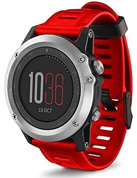 Ouneed® Uhrenarmbänder , Weiche Silikon Bügel Ersatz Uhrenarmband mit Tools für Garmin Fenix 3 HR