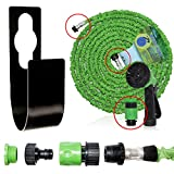 Best Hose 100 Feet Extra Durables - F.Dorla Metal Hose Holder hanger + 75 ft Review