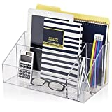Best Desk Organizers - Office Desktop Organizer, Acrylic Document Letter Tray Holde Review