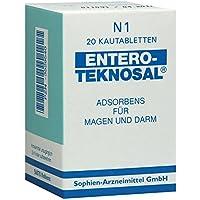 ENTERO TEKNOSAL Kautabletten 20 St Kautabletten preisvergleich bei billige-tabletten.eu