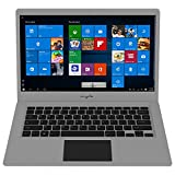 "Myria MY8306 - Ordenador portátil (Intel Celeron N3350 2.4GHz, 14.1"" IPS HD, 4GB, eMMC 32GB, Intel HD Graphics 500, Windows 10 Home) Color Plata"