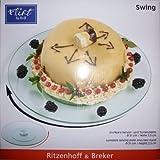 Ritzenhoff & Breker Swing Plato Giratorio para Tartas, 31 cm, Vidrio, 680645