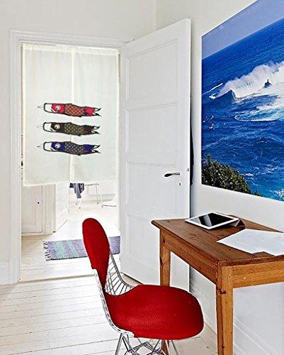 SESO UK- Cartoon Doorway Türvorhang Schattierung Schlafzimmer Badezimmer Tapisserie Raumteiler Wandbehänge - reduziert Wärmeverlust, verhindert Zugluft, spart Energie (85 * 125cm)