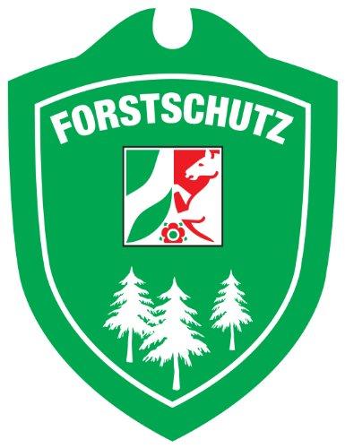 Waidmannsbruecke Autoschild Forstschutz Nordrhein-Westfalen Grün 1 SZ