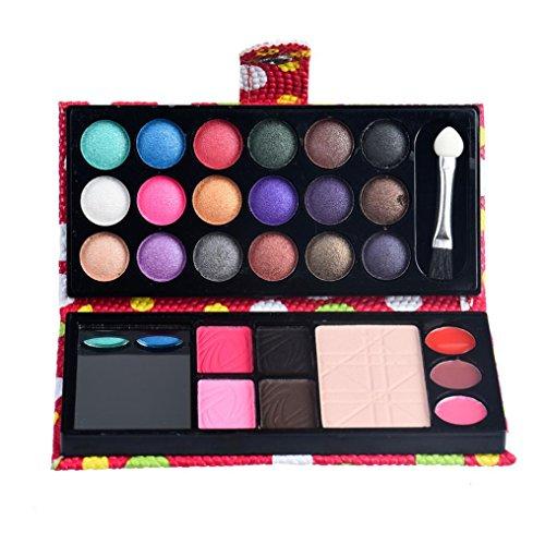 LHWY 2016 26 couleurs de fard à paupières palette de maquillage cosmétiques fard à paupières Blush Lip Gloss poudre