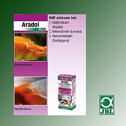 JBL Aradol Plus 250 100 ml, Remedy against carp lice and anchor worms in aquarium fish 3