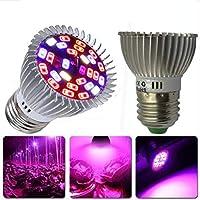 BeesClover - Lampada a LED a Spettro Completo per Coltivazione di Piante, per Interni e Giardini, 10 W E27