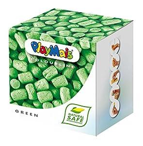 Loick Biowertstoff 160031 PlayMais - Caja de 150 unidades de material para modelar en color verde Importado de Alemania