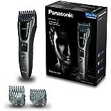 Panasonic ER-GB60-K503 Regolabarba e Tagliacapelli, Lavabile, Nero/Grigio Scuro