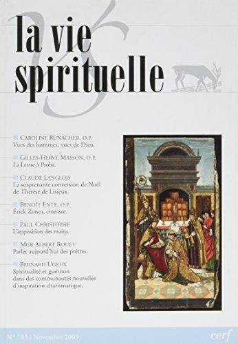 La Vie Spirituelle Vs 785 par Collectif