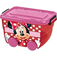 Disney830124–Caja a ruedas, 25L, diseño de Minnie