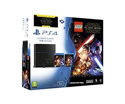 SONY CONSOLE PS4 1 TB + LEGO STAR WARS + STAR WARS