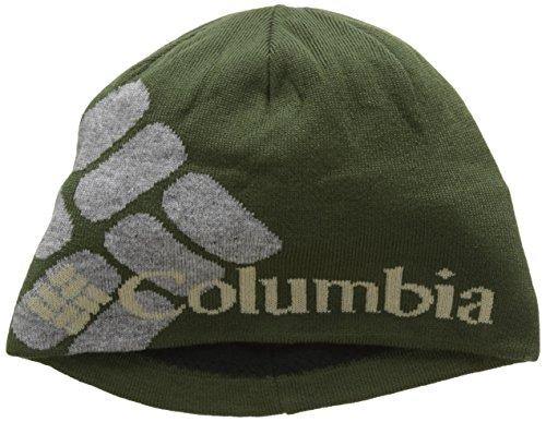 Columbia Heat Gorro, Hombre, Verde (Surplus Green Big Gem), Talla Única