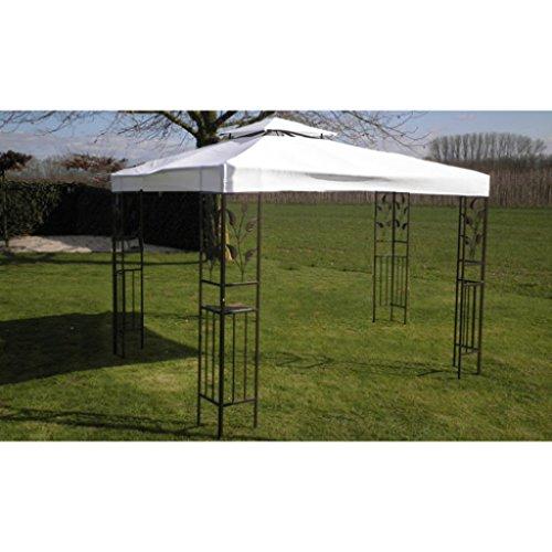 anself 3x4m gartenpavillon pavillon paryzelt gartenzelt. Black Bedroom Furniture Sets. Home Design Ideas