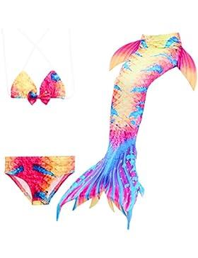 Nuevas muchachas del estilo de la llegada sirena Shell Swimsuit establecen Mxssi Shark Cosplay Costume Swimwear