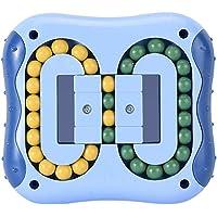 TiSkying Jouet de verrouillage en plastique, Rotation magique haricot soulagement du stress jouets doigt toupie jouet…